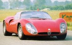 Zum Artikel Alfa Romeo 33 Coupé Stradale bei den Schloss Bensberg Classics 2010