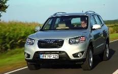 Zum Artikel Fahrbericht Hyundai Santa Fe 2.2 CRDi 4WD Premium: Viel fehlt nicht