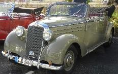 Zum Artikel Fahrbericht Mercedes 170 Cabriolet von 1950: Herrenzimmer