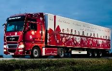 Zum Artikel Auszubildende verwandelten Nutzfahrzeuge in Weihnachts-Trucks