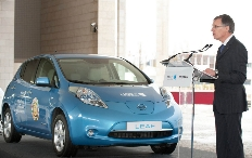 Zum Artikel Nissan lieferte erste Leaf in Portugal aus