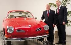 Zum Artikel Volkswagen erwirbt Klassikersammlung von Karmann
