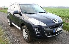 Zum Artikel Fahrbericht Peugeot 4007 HDi FAP 155 DCS: Flexibles SUV