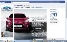 Zum Artikel 27.01.2011: Ford ist auf Facebook vertreten