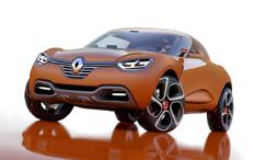 Zum Artikel 21.02.2011: Renault Captur gibt Ausblick auf neue Designlinie