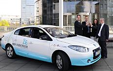 Zum Artikel RWE testet Elektrolimousine von Renault im Alltag