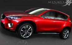 Zum Artikel IAA 2011: Mazda präsentiert CX-5