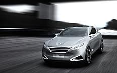 Zum Artikel Shanghai 2011: Peugeot zeigt Hybrid4-Konzeptfahrzeug ScX