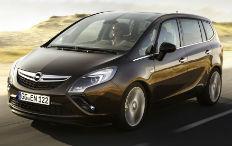 Zum Artikel Schon vor der IAA: Opel Zafira Tourer zeigt sein Gesicht