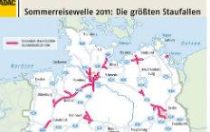 Zum Artikel ADAC-Stauprognose: Staugefahr auf der Urlaubsfahrt