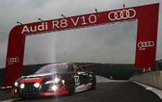 Zum Artikel Audi R8 LMS gewinnt die 24 Stunden von Spa