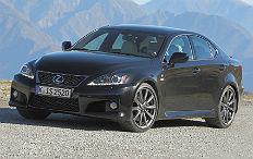 Zum Artikel Lexus schickt den IS F verfeinert ins neue Modelljahr