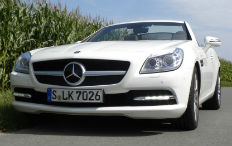 Zum Artikel Fahrbericht Mercedes-Benz SLK 350 Blue Efficiency: Vielschichtig