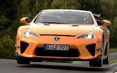 Zum Artikel Lexus LFA umrundet die Nordschleife in 7:14,64 Minuten