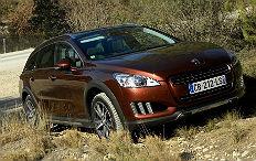 Zum Artikel Pressepräsentation Peugeot 508 RXH: Hybridoffensive geht weiter