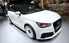 Zum Artikel Genf 2012: Audi krönt Baureihe mit dem A1 Quattro