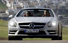 Zum Artikel Pressepräsentation Mercedes-Benz SL: Autos machen Leute