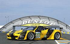 Zum Artikel Ferrari 458 fährt im Dunlop-Design in Le Mans