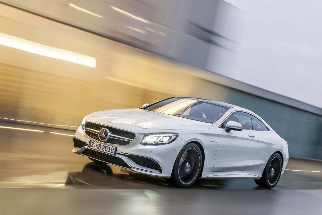Zum Artikel Mercedes-Benz S63 AMG Coupé: Schöner sprinten