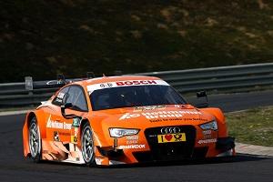 Zum Artikel Audi mit Testfahrten mit Audi RS 5 DTM zufrieden
