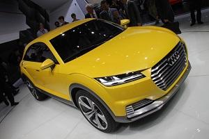 Zum Artikel Peking 2014 Audi zeigt TT Offroad Concept