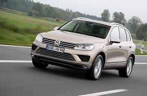 Zum Artikel Kurztest Volkswagen Touareg 3.0 V6 TDI: Klare Aussage