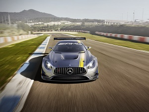 Zum Artikel Genf 2015: Alles auf Angriff beim Mercedes-AMG GT3