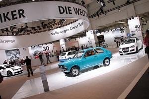 Zum Artikel Techno Classica 2015: Der VW Polo wird 40