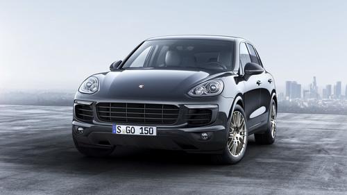 Zum Artikel Porsche bringt Cayenne Platinum Edition