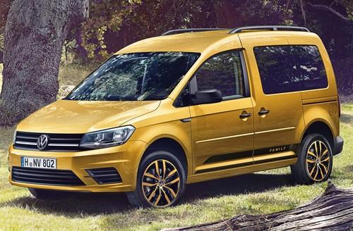 Zum Artikel Volkswagen bringt Caddy Family